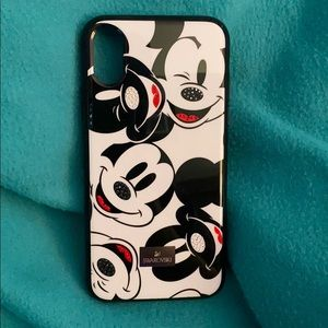 Swarovski Mickey Mouse IPhone X Case